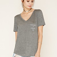 Comme Ci Graphic Pocket Tee