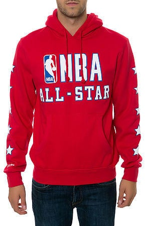 The 89  NBA All Star Hoodie in Red from Karmaloop  8eccd6384
