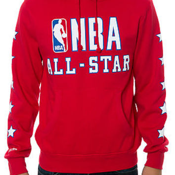 The 89' NBA All Star Hoodie in Red