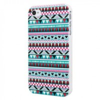 Luxury Figure Striped Colors Design Hard Back Bumper Case Cover for iPhone 4 4S