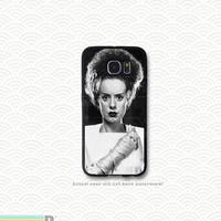 Bride of Frankenstein, Custom Phone Case for Galaxy S4, S5, S6