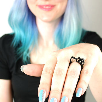 Hello Kitty Silhouette Ring