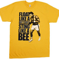Float Like A Butterfly Sting Like A Bee - Muhammad Ali Sheer T-shirt - MyTeeSpot - Your T-shirt Store