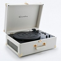 Crosley Keepsake White and Gold Turntable - Urban Outfitters
