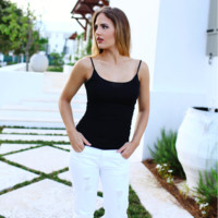 Black Stretch Camisole