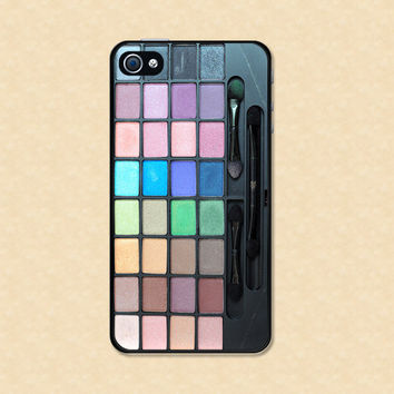 Makeup Iphone Case Iphone 4 case cool awesome makeup palette Iphone 5 case Iphone 4s case Samsung Galaxy Case