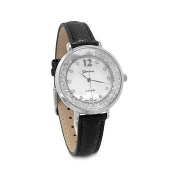 Geneva Dancing CZ Fashion Watch