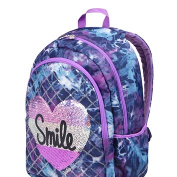 Dye Effect Smile Backpack