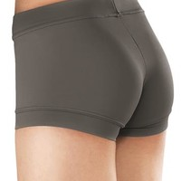 Solid Color Banded Bottom Dance Shorts | Balera™