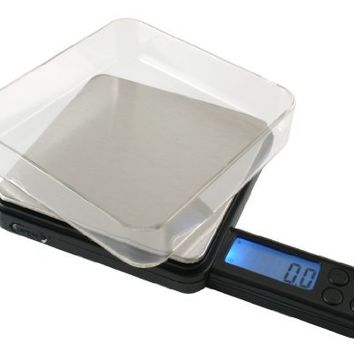 American Weigh Scales Black Blade Series BL2-100-BLK Digital Pocket Scale, 100 by 0.01 G