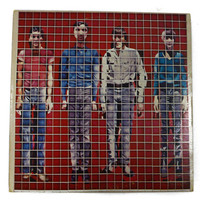 Vintage 70s Talking Heads More Songs About Buildings and Food Album Record Vinyl LP