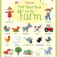 Usborne Books & More. First Word Book on the Farm