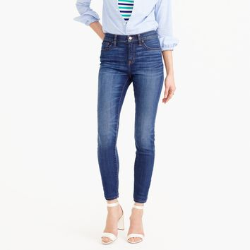 Lookout high-rise jean in Meyer wash