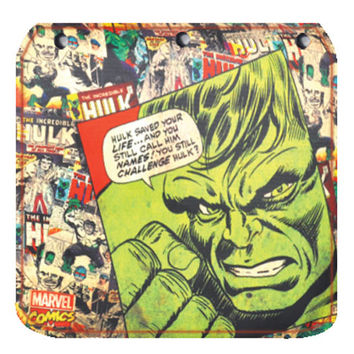 Hulk Comic Book Flap for Messenger Bag