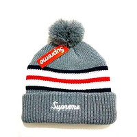Perfect Supreme Women Men Embroidery Beanies Warm Knit Hat Cap