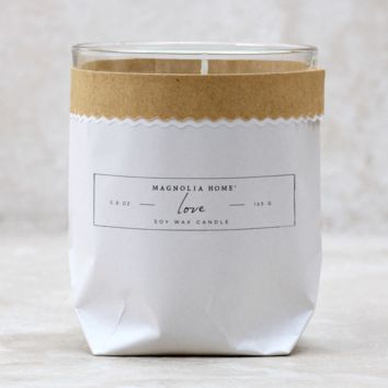 Love Paper Candle By Magnolia Home