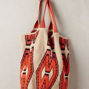 San Andres Tote by Guanabana Orange All Bags