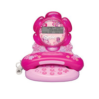 Emerson BAR550 Barbie Blossom Telephone with Caller ID
