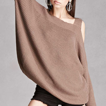 Chunky Open-Shoulder Top