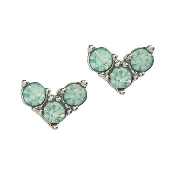 Colored Heart Stud Earrings|banana-republic