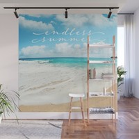 endless summer Wall Mural by sylviacookphotography