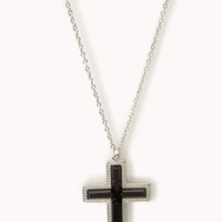 Bejeweled Cross Necklace