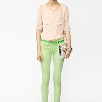 Day Glo Skinny Jeans in  What's New at Nasty Gal