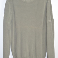 Eddie Bauer Ribbed Sweater Casual Cotton Large --FREE US SHIP--