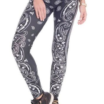 FFAB Barbelle Bandana Workout Leggings