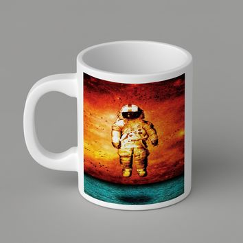 Gift Mugs | Brand New Deja Entendu Astronaut Ceramic Coffee Mugs