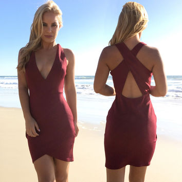Leader Of The Pack Bodycon Dress