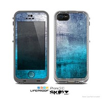 The Abstract Oil Painting Skin for the Apple iPhone 5c LifeProof Case