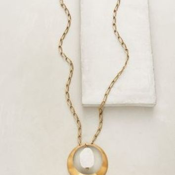 Jan Michaels Ea Pendant Necklace in White Size: One Size Necklaces