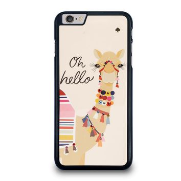 KATE SPADE CAMEL OH HELLO iPhone 6 / 6S Plus Case