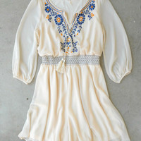Ivory Stonefly Dress [5040] - $46.00 : Vintage Inspired Clothing & Affordable Dresses, deloom | Modern. Vintage. Crafted.