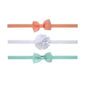 Carter's 3-pk. Headbands - Baby, Size: 0-6 MONTHS (Pink/Blue/White)