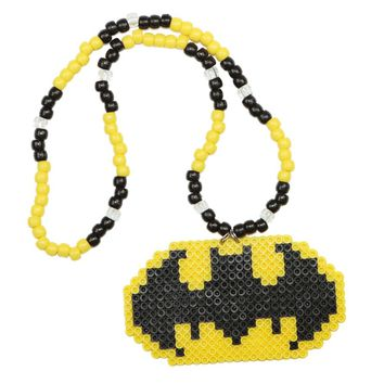 Batman Kandi Necklace