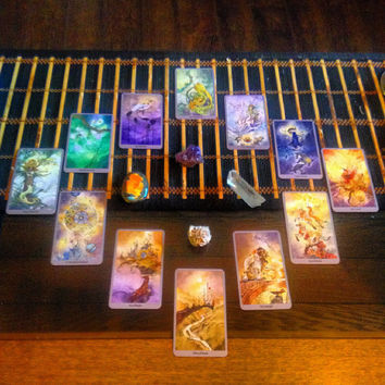 Zodiac Tarot Spread Reading