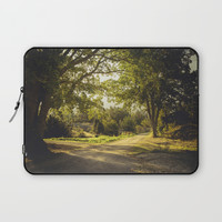 On the road again Laptop Sleeve by HappyMelvin