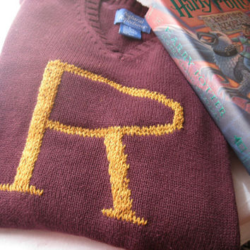 Harry Potter Sweater  Custom Weasley Sweater made by SewEcological