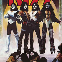 KISS Love Gun Album Cover Poster 24x36