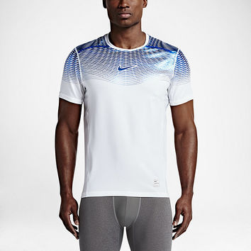 The Nike Pro Hypercool Max Fitted Men's Training Shirt.