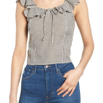 BP. Ruffle Neck Top | Nordstrom