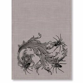 Gothic Spiders Table Runner
