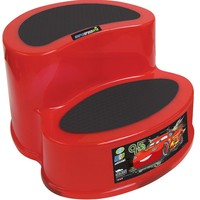 Disney / Pixar Cars Two-Tier Step Stool (Red)