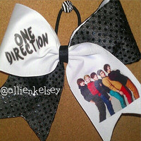 One Direction Bow by AandMsBOWtique on Etsy