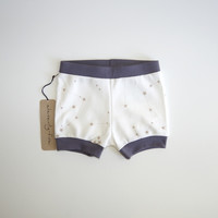 Zodiac Constellations Organic Baby and Kids Shorties