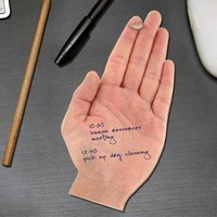 Fred and Friends TALK TO THE HAND Sticky Notes, 300 Sheet Pad