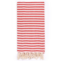Turkish-T - Beach Candy Towel / Cherry