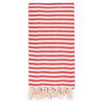 Turkish-T - Beach Candy Towel | Cherry